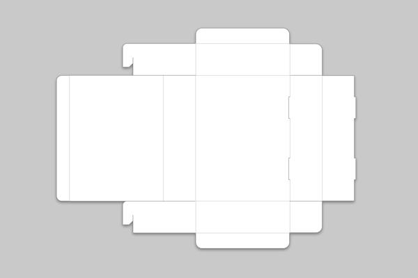 N式折箱(組立式簡易箱)展開図