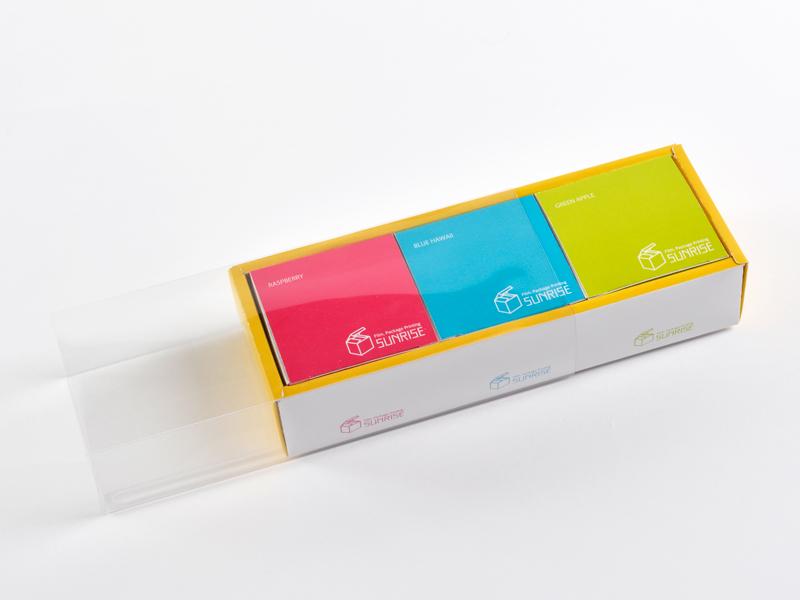 額縁(ギフト)箱×透明スリーブ